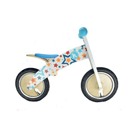 Kiddimoto Kurve Kids Push Bikes Children blue/colourful